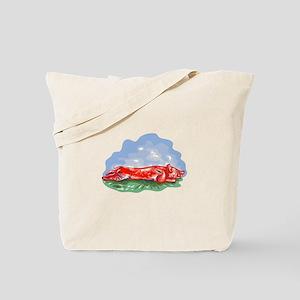 Lechon Roast Pig WPA Tote Bag