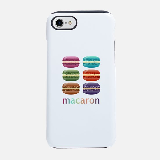 Colorful Macarons iPhone 8/7 Tough Case