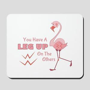 A Leg Up Mousepad