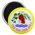 "USS San Jose (AFS 7) 2.25"" Magnet (10 pack)"