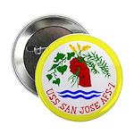 """USS San Jose (AFS 7) 2.25"""" Button (100 pack)"""