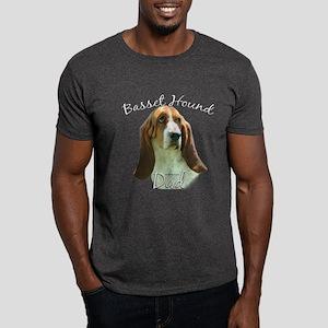 Basset Dad2 Dark T-Shirt