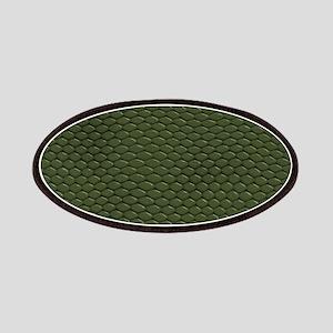 GREEN REPTILE SKIN Patch