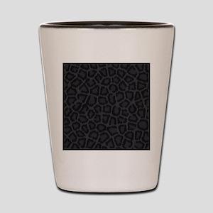 BLACK LEOPARD PRINT Shot Glass