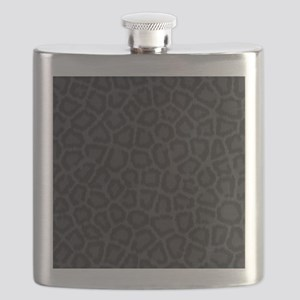 BLACK LEOPARD PRINT Flask