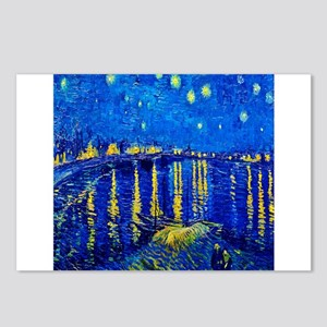 Van Gogh Starry Night Over Rhone Postcards (Packag
