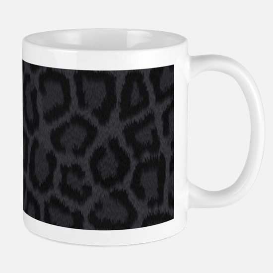 BLACK LEOPARD PRINT Mug