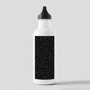 BLACK LEOPARD PRINT Stainless Water Bottle 1.0L