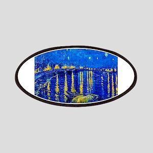 Van Gogh Starry Night Over Rhone Patch