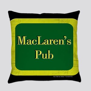 MacLaren's Pub Everyday Pillow