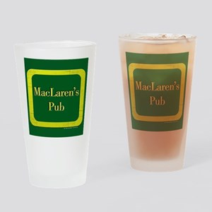 MacLaren's Pub Drinking Glass