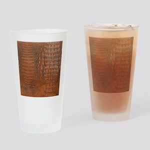 ALLIGATOR SKIN Drinking Glass