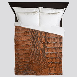 ALLIGATOR SKIN Queen Duvet