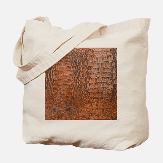 ALLIGATOR SKIN Tote Bag