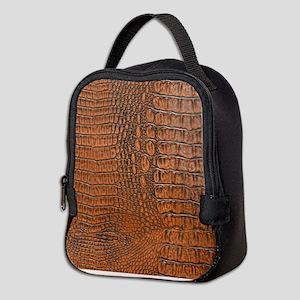 ALLIGATOR SKIN Neoprene Lunch Bag