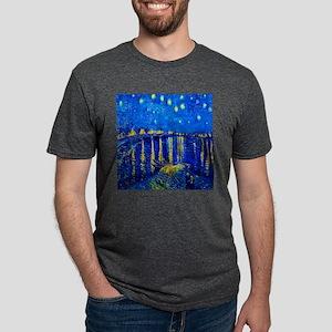 Van Gogh Starry Night Over Rhone T-Shirt