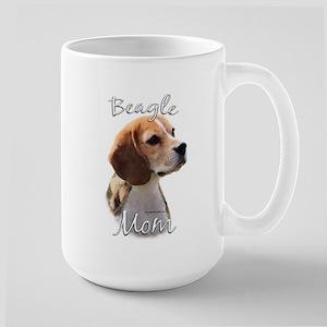 Beagle Mom2 Large Mug