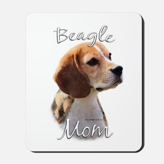 Beagle Mom2 Mousepad