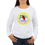 USS San Jose (AFS 7) Women's Long Sleeve T-Shirt