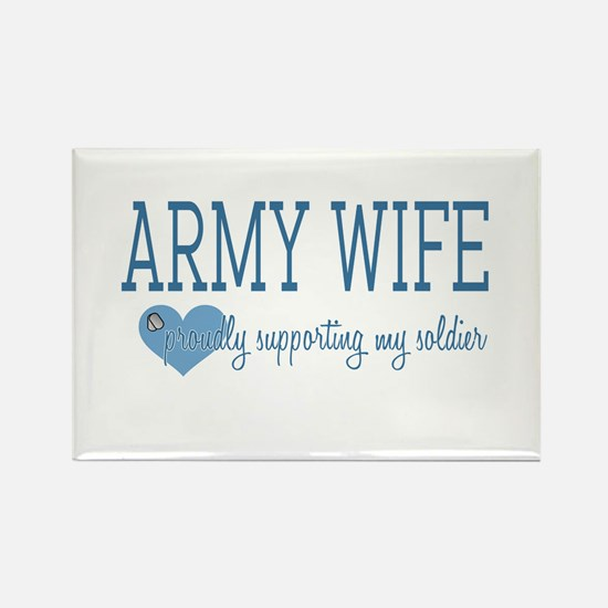 Army Wife Rectangle Magnet