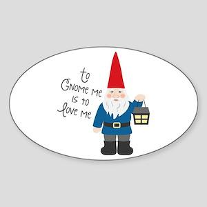 To Gnome Me Sticker