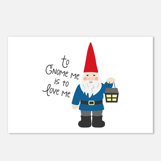 To Gnome Me Postcards (Package of 8)