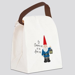 To Gnome Me Canvas Lunch Bag