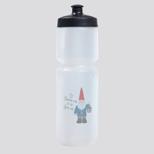 To Gnome Me Sports Bottle