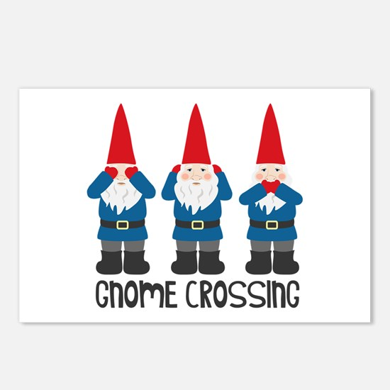 Gnomes Crossing Postcards (Package of 8)