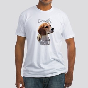Beagle Dad2 Fitted T-Shirt