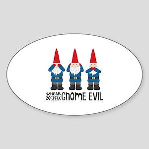Gnomes No Evil Sticker
