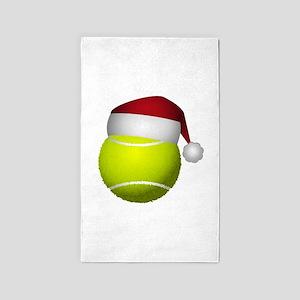 Christmas Tennis Area Rug