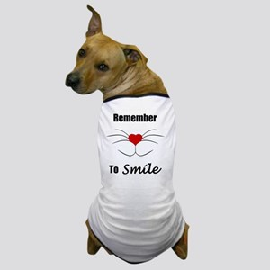 Remember To Smile Dog T-Shirt