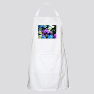 Colorful Hydrangea Bush Apron