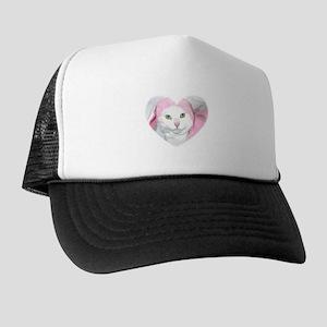The Easter Kitty Trucker Hat
