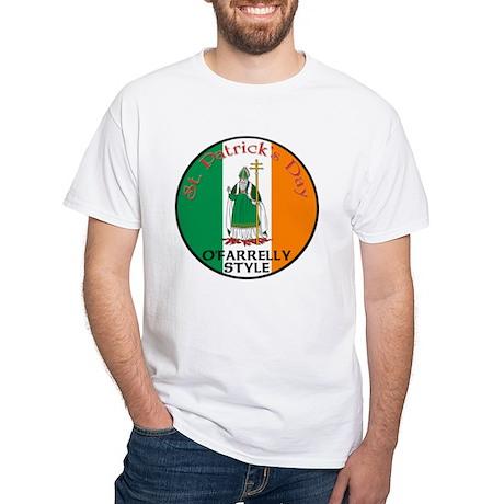 O'Farrelly, St. Patrick's Day White T-Shirt