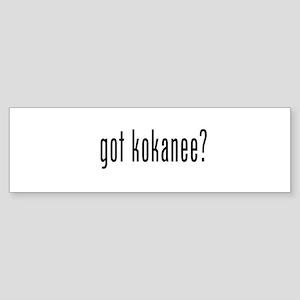 got kokanee Bumper Sticker