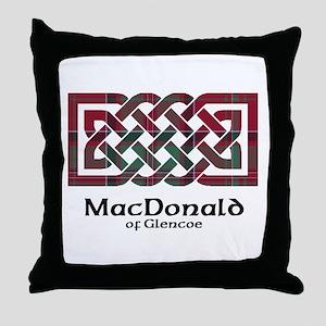 Knot - MacDonald of Glencoe Throw Pillow