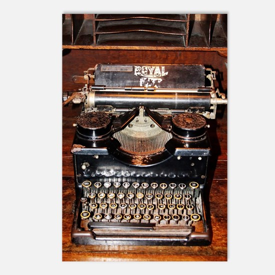 Funny Vintage typewriter Postcards (Package of 8)