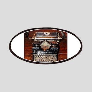 Vintage typewriter Patch