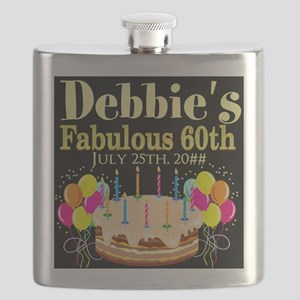 SUPER 60TH Flask