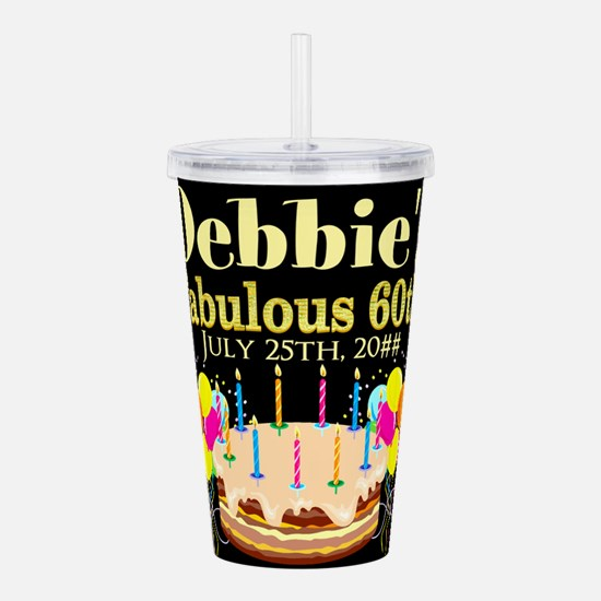 SUPER 60TH Acrylic Double-wall Tumbler