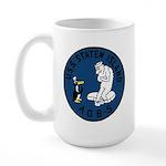 USS Staten Island (AGB 5) Large Mug