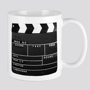 Clapperboard for movie making Mugs