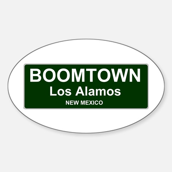 US CITIES - BOOMTOWN! - LOS ALAMOS - NEW M Decal