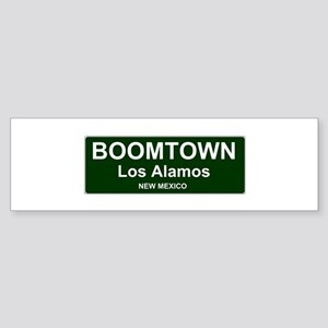 US CITIES - BOOMTOWN! - LOS ALAMOS Bumper Sticker