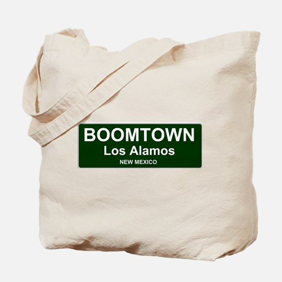 US CITIES - BOOMTOWN! - LOS ALAMOS - NEW Tote Bag