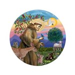 Stfrancis With Love Button
