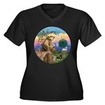 StFrancis with LOVE Plus Size T-Shirt