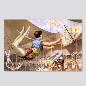 circus art Postcards (Package of 8)